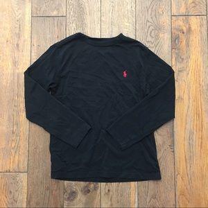 🌵Polo Ralph Lauren Black Long Sleeve Shirt size 8